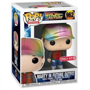 Figura de Marty en traje del futuro (Regreso al futuro)