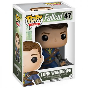 Figura de masculina del vagabundo solitario (Fallout)