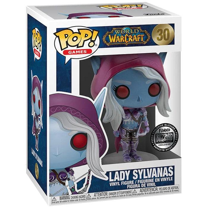Figura de metálica de Sylvanas (World Of Warcraft)