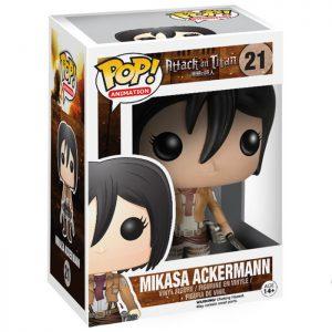 Figura de Mikasa Ackermann (Ataque a los Titanes)