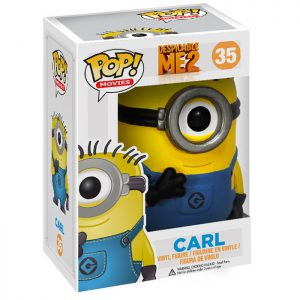 Figura de Minion Carl (GRU: Mi Villano Favorito 2)