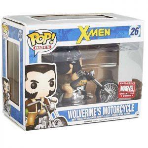Figura de motocicleta de Wolverine (X-Men)