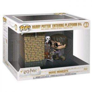 Figura de Movie Moments Harry Potter entrando en la plataforma 9 3/4 (Harry Potter)