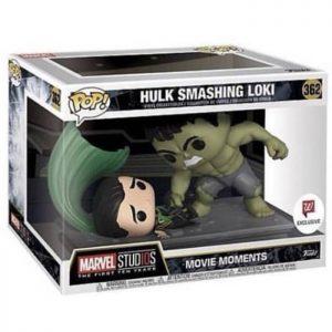 Figura Movie Moments Hulk Smashing Loki (Los Vengadores)