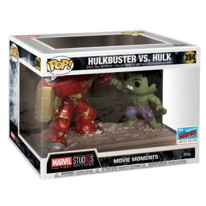 Figura Movie Moments de Hulkbuster VS Hulk (Vengadores: La Era de Ultrón)