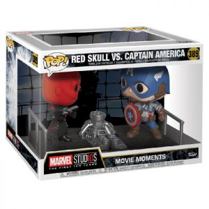 Figura Movie Moments Red Skull VS Capitán América (Capitán América)