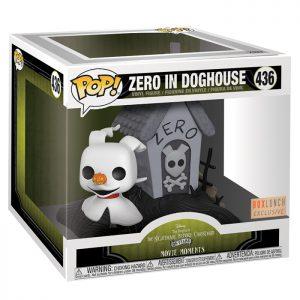Figura Movie Moments de Zero en la Caseta del Perro (Pesadilla Antes de Navidad)