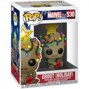 Figura Navideña de Groot (Marvel)