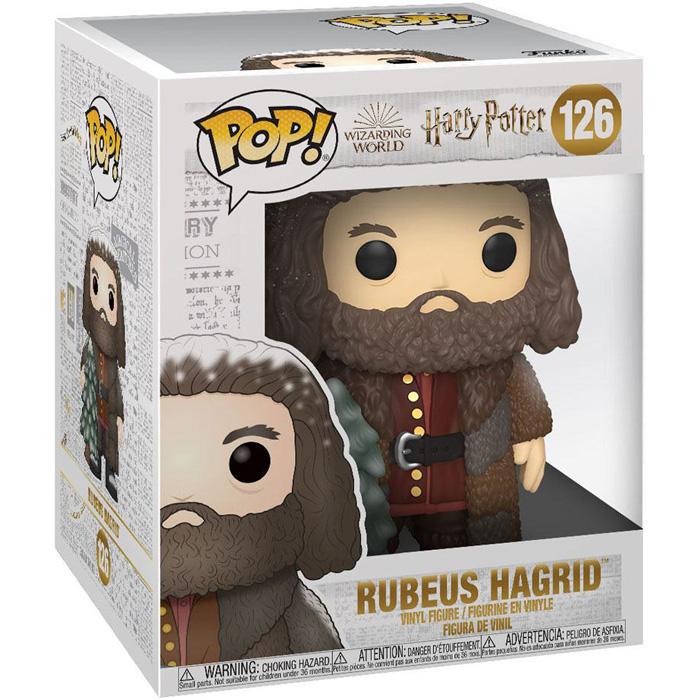 Figura Navideña de Hagrid (Harry Potter)
