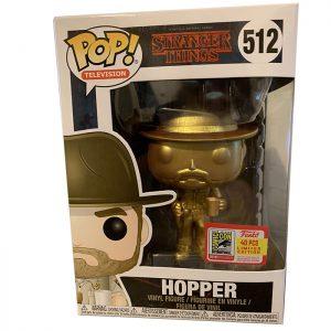 Figura de oro Hopper (Stranger Things)