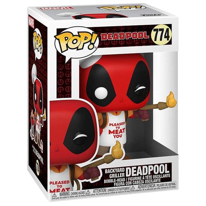 Figura de parrilla de patio trasero de Deadpool (Deadpool)