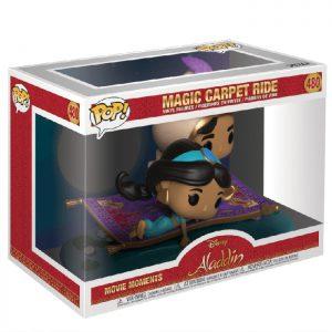 Figura de paseo en alfombra mágica de Movie Moments (Aladdin)