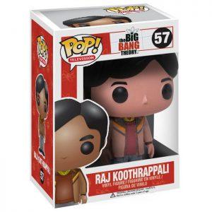 Figura de Raj Koothrappali (The Big Bang Theory)