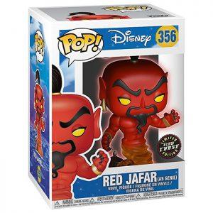 Figura de Red Jafar Chase que brilla en la oscuridad (Aladdin)