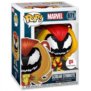 Figura de Scream Symbiote (Marvel)