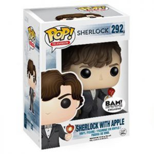 Figura de Sherlock con Manzana (Sherlock)