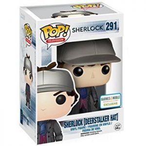 Figura de sombrero de Sherlock Deerstalker (Sherlock)