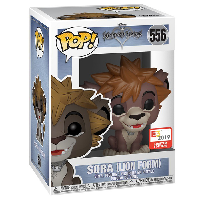 Figura de Sora con Forma de León (Kingdom Hearts)