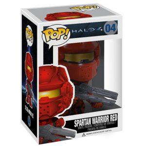 Figura de Spartan Warrior Red (Halo 4)