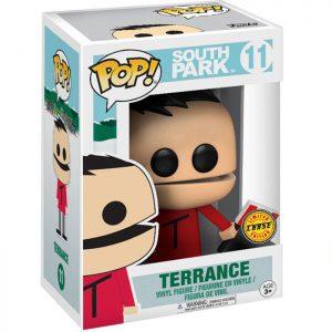 Figura de Terrance con la Bandera de Canadá Chase (South Park)