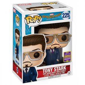 Figura de Tony Stark con máscara de Iron Man (Spider-Man: Homecoming)