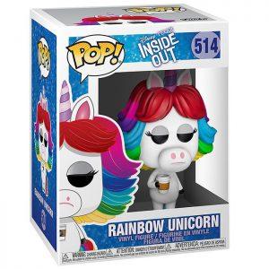Figura de unicornio arcoíris (Del revés – Inside Out)