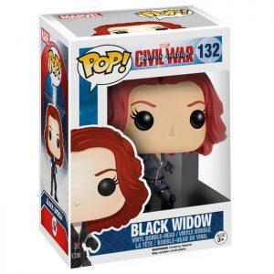 Figura de la Viuda Negra (Capitán América Civil War)