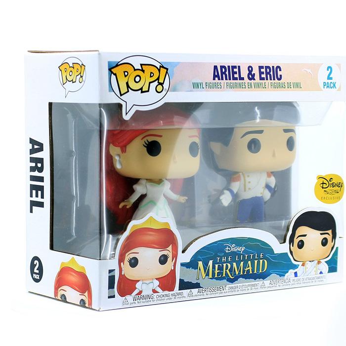 Figuras de Ariel y Eric (La Sirenita)