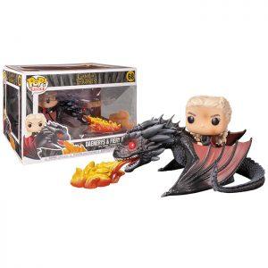 Figuras de Daenerys y Fiery Drogon (Juego de Tronos)