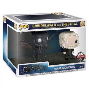 Figuras de Momentos de la película Grindelwald y Thestral (Los crímenes de Grindelwald)