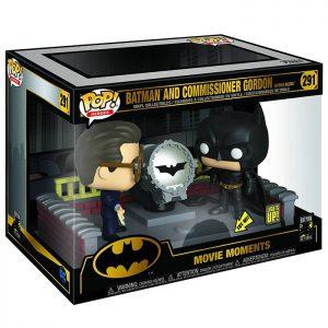 Figuras de Movie Moments Batman y el comisionado Gordon (Batman Begins)
