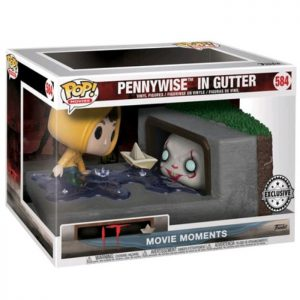 Figuras de Movie Moments Pennywise In Gutter (It)