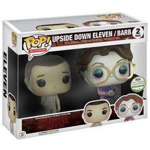 Figuras de Upside Down Eleven y Barb (Stranger Things)