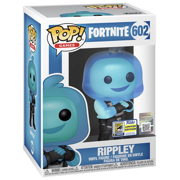 Figura de Funko Pop Rippley (Fortnite) en su caja