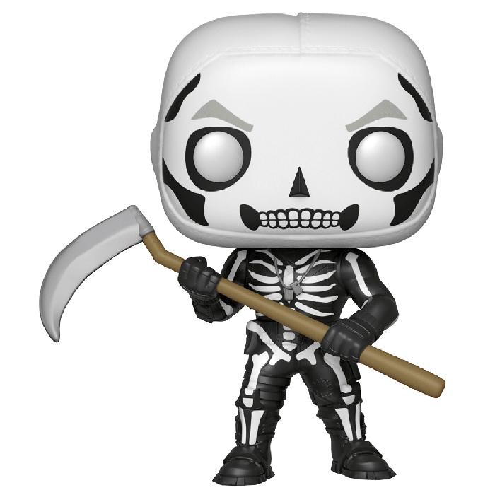 Figura de Funko Pop Skull Trooper brilla en la oscuridad (Fortnite)