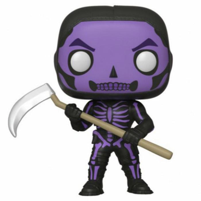 Figura de Funko Pop Skull Trooper violeta (Fortnite)