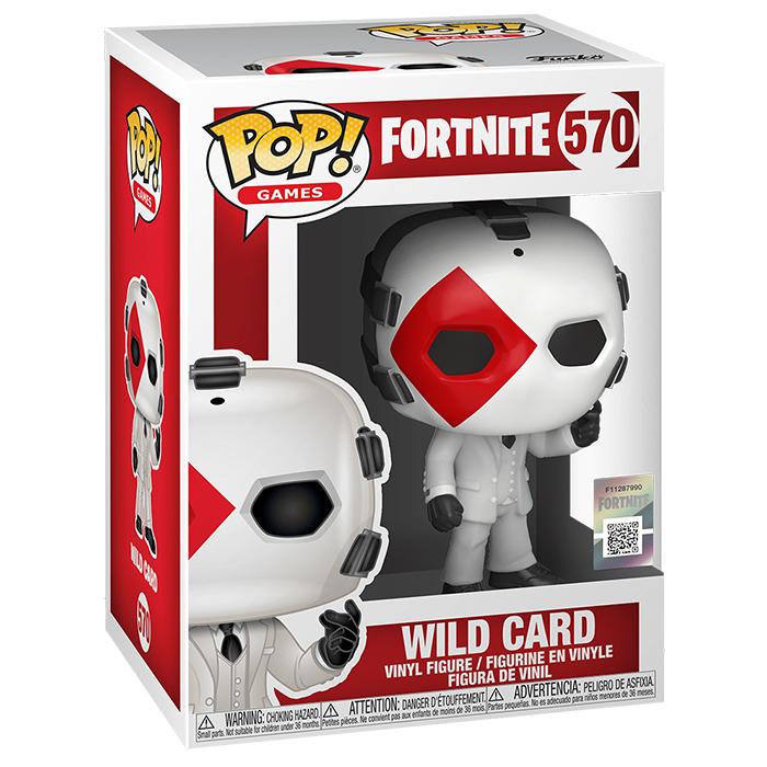 Figura de Funko Pop Wild Card (Fortnite)
